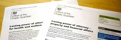 Power of Attorney paperwork